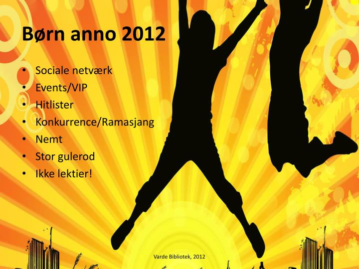 B rn anno 2012