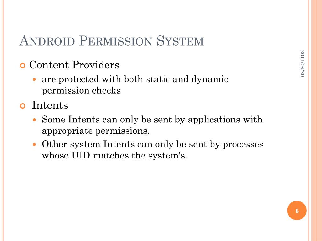 PPT - Android Permissions Demystified PowerPoint