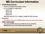 me curriculum information2