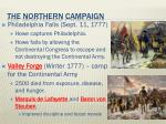 the northern campaign2