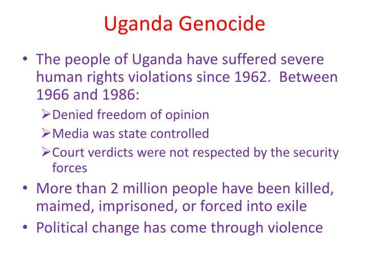 Uganda Genocide