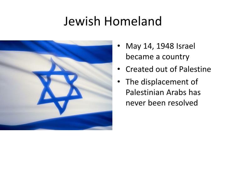 Jewish Homeland