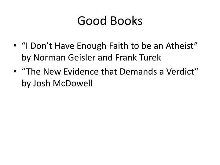 Good books