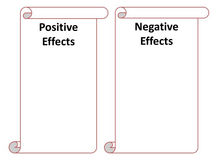 Positive Effects