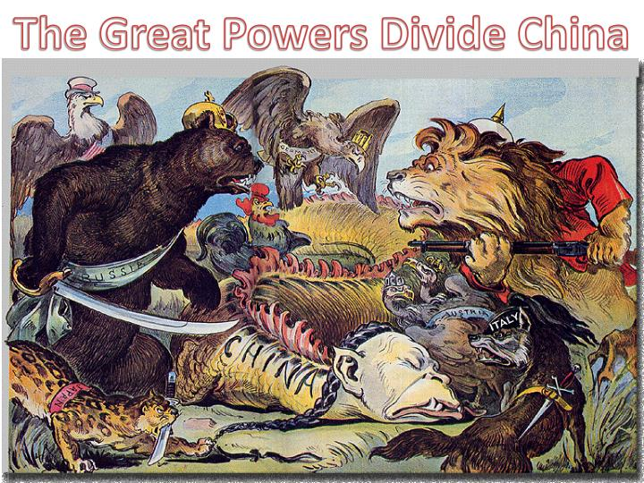The Great Powers Divide China