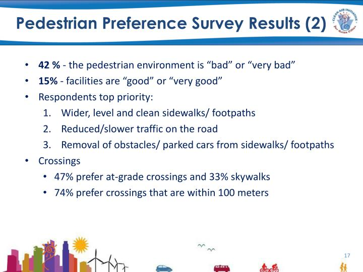 Pedestrian Preference Survey Results (2)