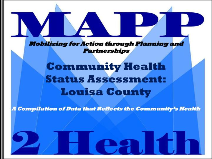 community health status assessment louisa county n.