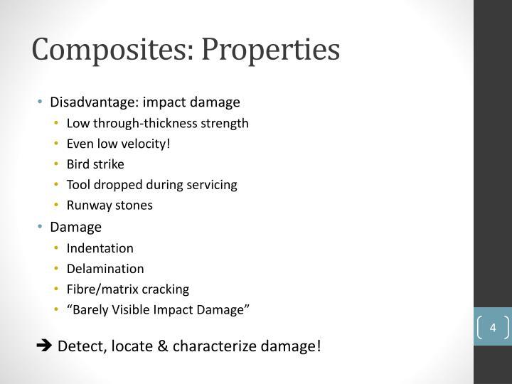 Composites: Properties