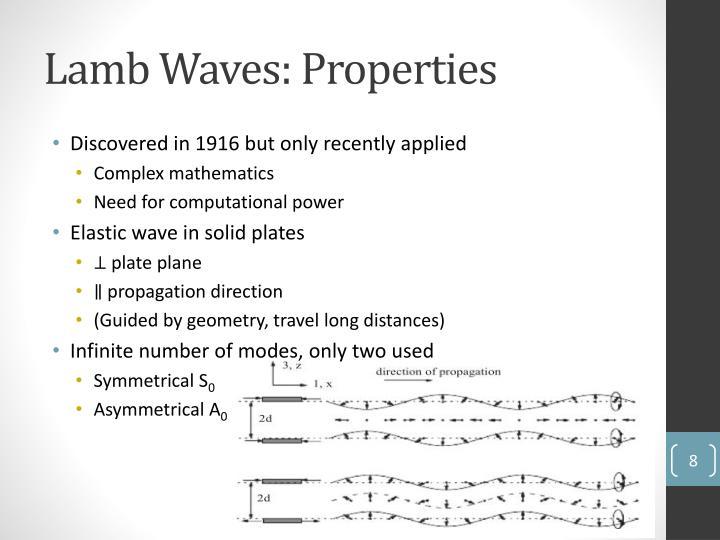 Lamb Waves: Properties