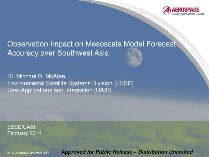 Observation impact on mesoscale model forecast accuracy over southwest asia