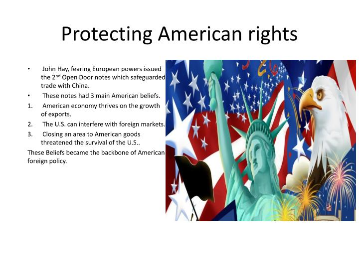 Protecting American Rights