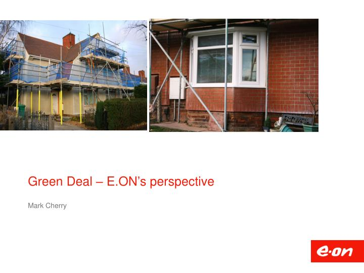 green deal e on s perspective n.