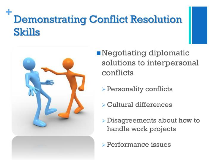 conflict resolution policies at the workplace Developing a dispute resolution process if you are unable to resolve a workplace conflict, there are trained professionals who can advise and assist you.
