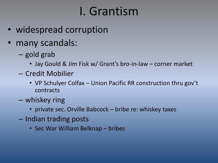 I grantism