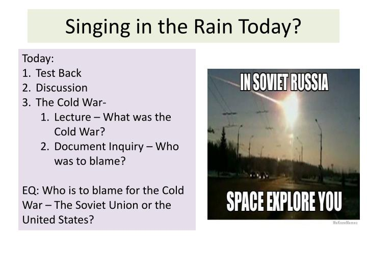 singing in the rain today n.
