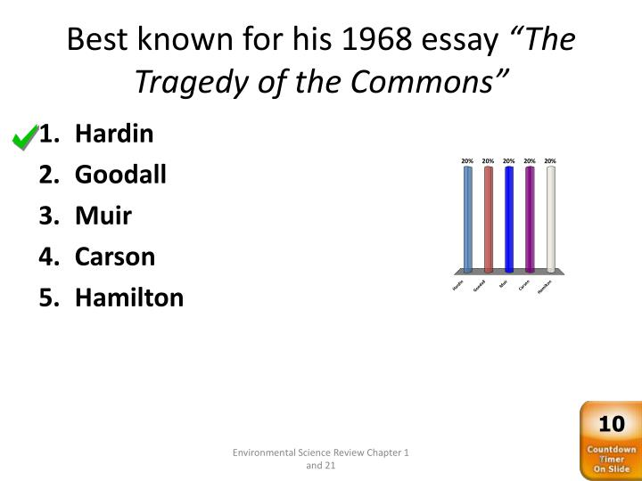 tragedy of the commons review
