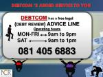 debtcom s added service to you