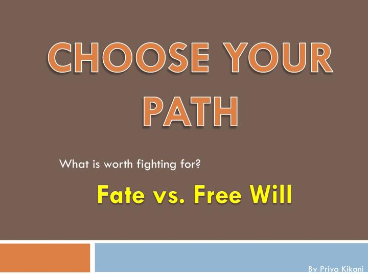 fate vs free will in sophocles oedipus the king