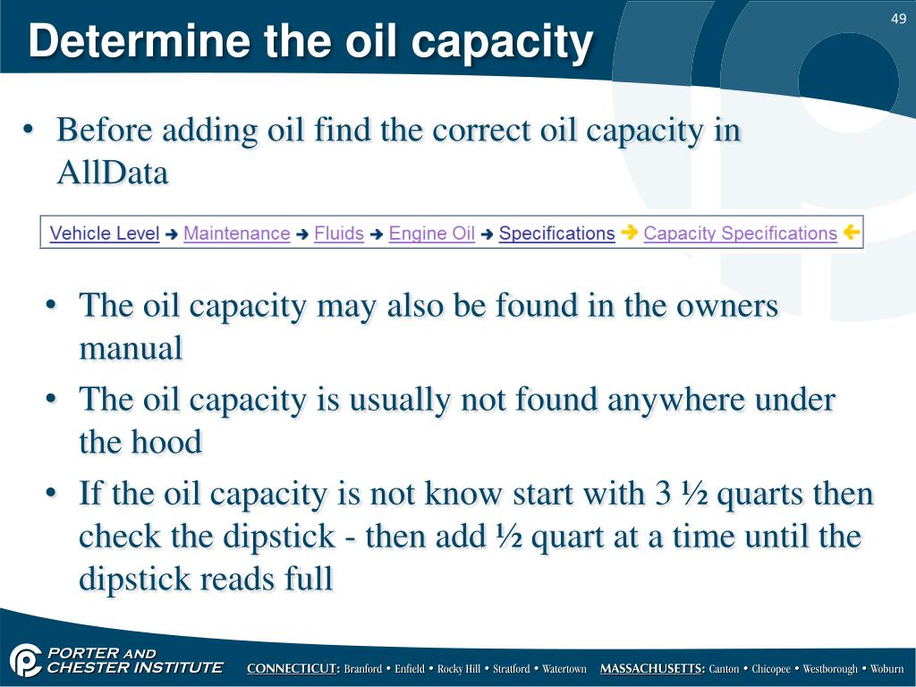 PPT - Oil change and lubrication service PowerPoint Presentation