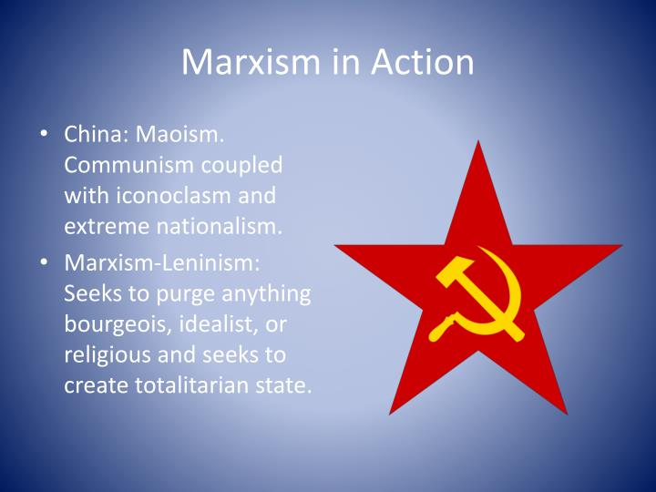 Marxism in Action