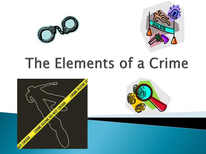 the elements of a crime n.