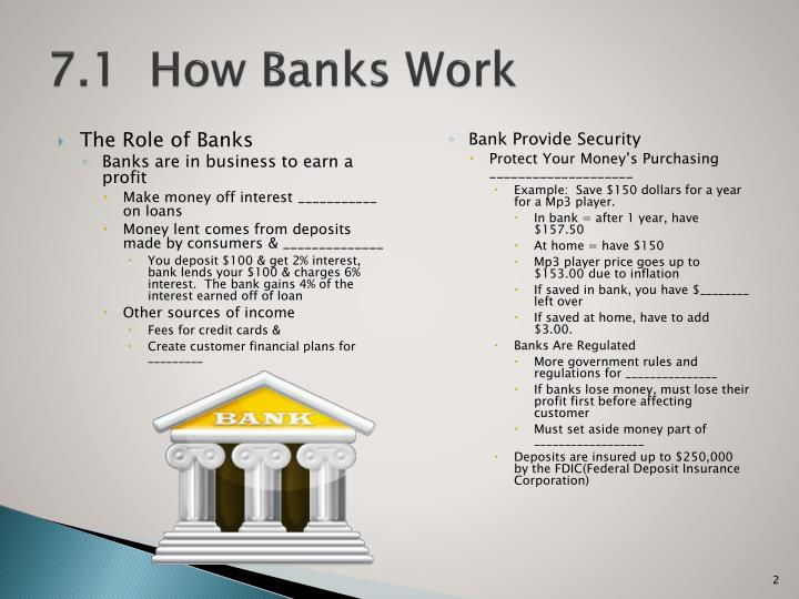 7 1 how banks work