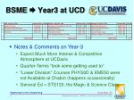 bsme year3 at ucd