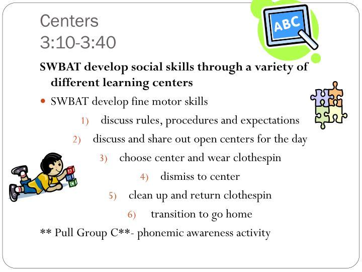 Centers