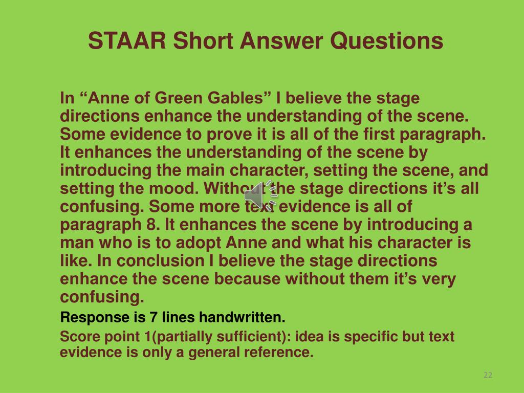 PPT - English II STAAR Reading Test Basics PowerPoint ...