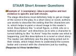 staar short answer questions4