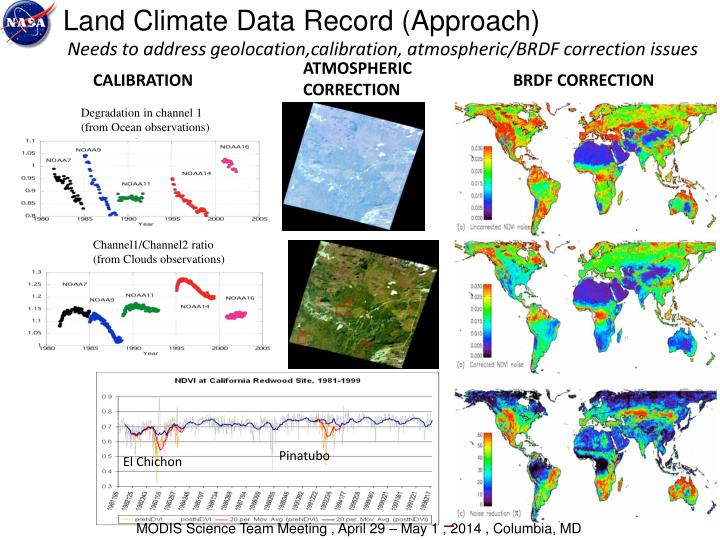 Land Climate Data Record (Approach)