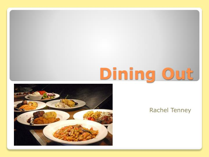 dining out n.