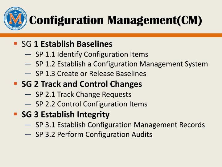 Configuration Management(CM)