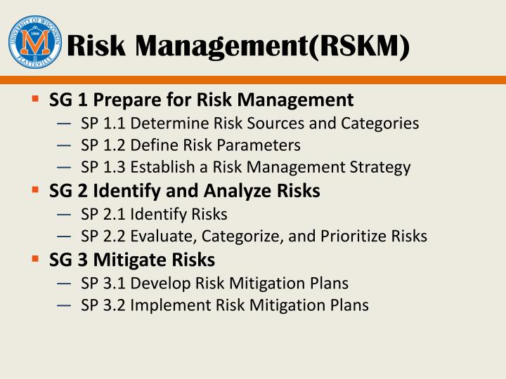 Risk Management(RSKM)