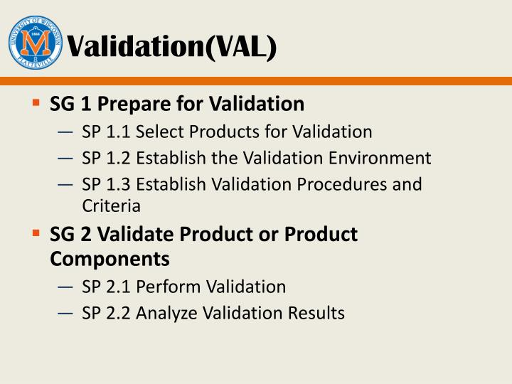 Validation(VAL)