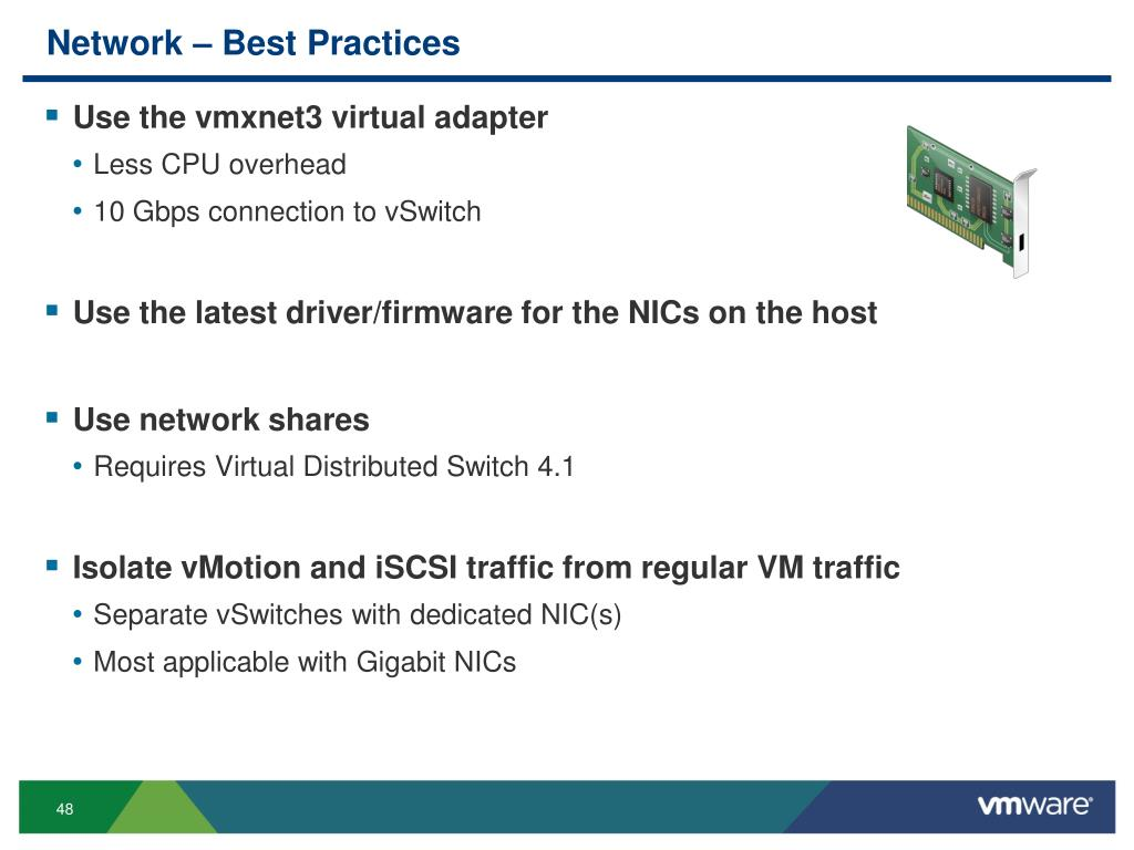 Vmware Vcpu Best Practices