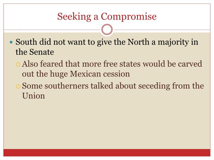 Seeking a Compromise