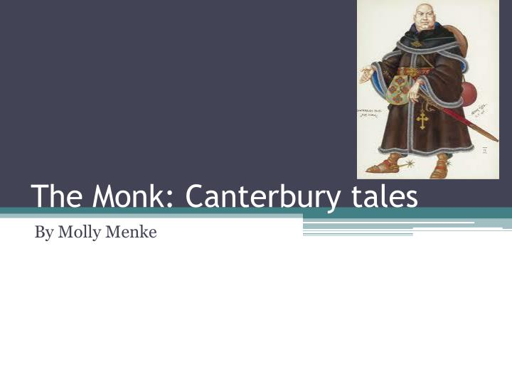 the monk canterbury tales n.