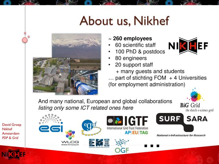 About us nikhef
