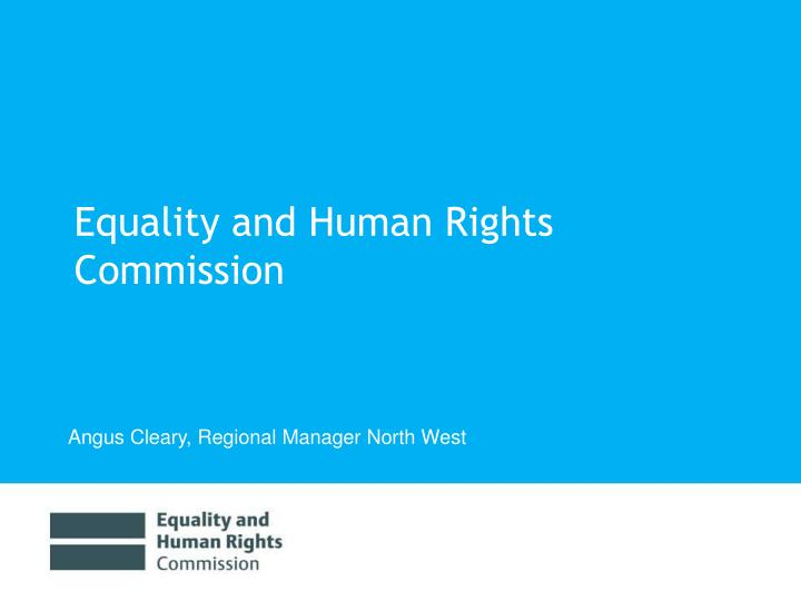 equality and human rights commission n.