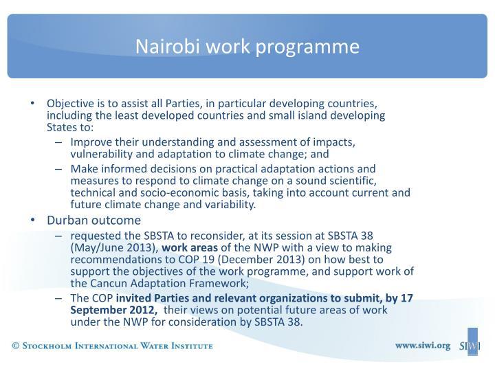 Nairobi work