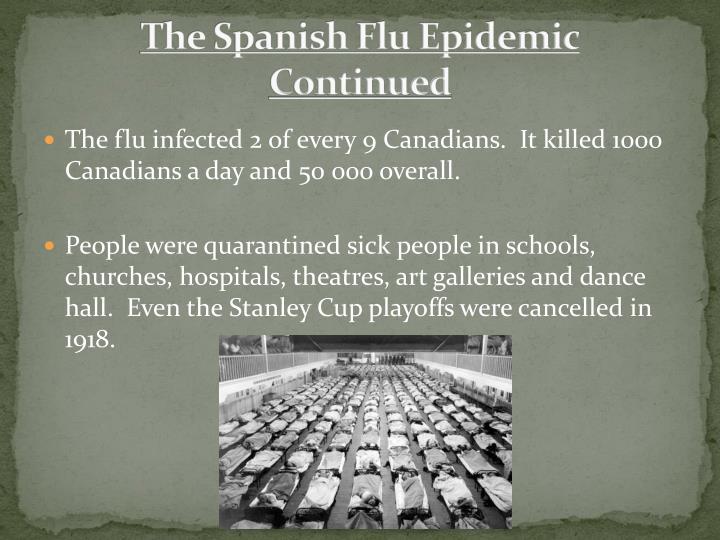 The Spanish Flu