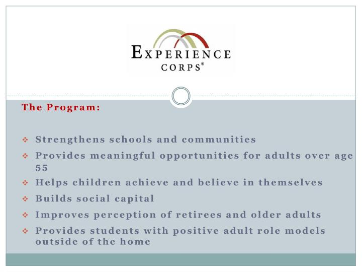 The Program: