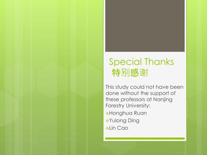 special thanks n.