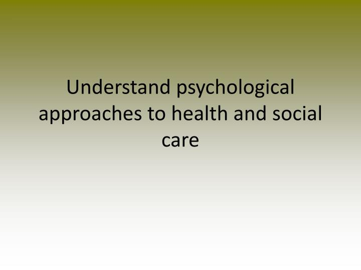 understanding spesific needs in health and social care essay Despite the above mentioned challenges, health care or social care organization has to ensure that it employs the appropriate strategies to address different challenging behaviors associated with specific needs for instance, strategies used to address cases of people exhibiting hearing related problems.