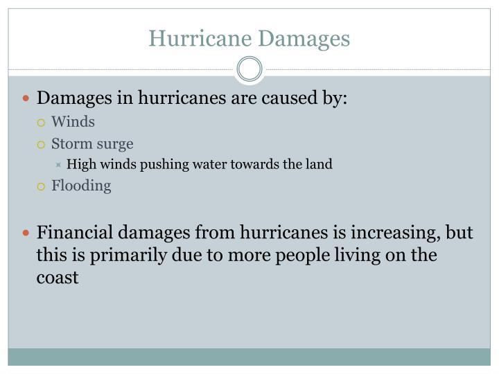 Hurricane Damages