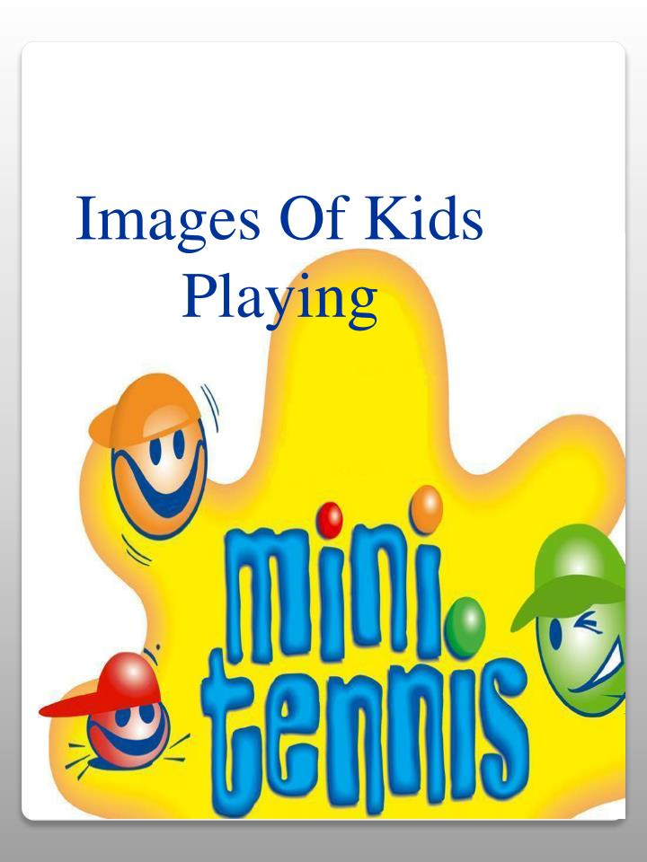 Images Of Kids Playing