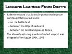 lessons learned from dieppe1