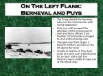 on the left flank berneval and puys1