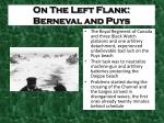 on the left flank berneval and puys2